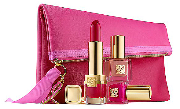 Estee-Lauder-Eveylyn-Lauder-and-Elizabeth-Hurley-Dream-Pink-Collection